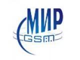 Логотип Mир GSM, сеть торгово-сервисных центров