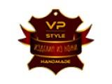 Логотип VP-STYLE Мастерская дизайна и изготовления изделий из натуральной кожи.
